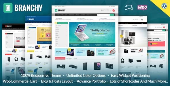 Branchy WooCommerce Responsive Theme - vestathemes - Download Free ...