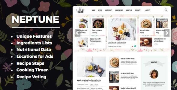 Neptune v311 food recipe bloggers chefs theme vestathemes neptune v311 food recipe bloggers chefs theme vestathemes download free premium nulled wordpress themes plugins forumfinder Image collections