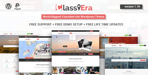 Classiera v1.18 – Classified Ads WordPress Theme - vestathemes ...