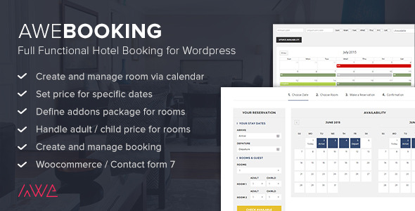 Free WordPress Room Booking Plugin