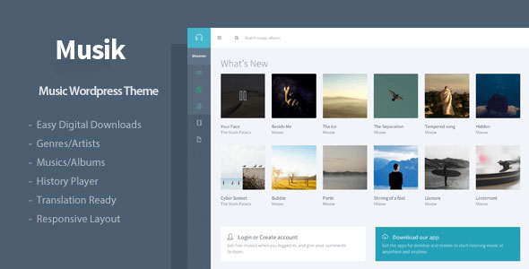 Musik v3.0 – Responsive Music & Bands WordPress Theme - vestathemes ...