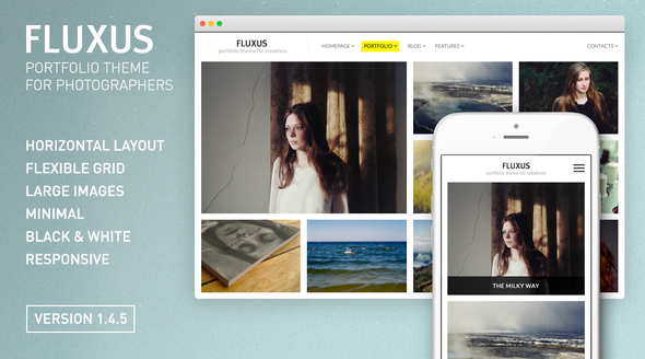 Fluxus v1.4.7 – Portfolio Theme for Photographers - vestathemes ...