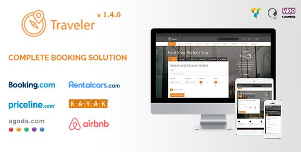 Traveler V   Travel Tour Booking WordPress Theme