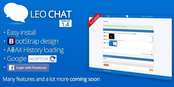 Leo Chat v1.5 – Responsive PHP AJAX Chat Script - vestathemes ...