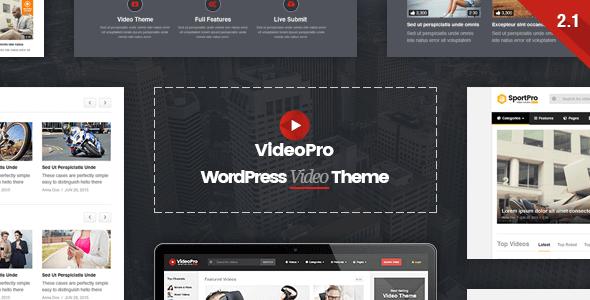 VideoPro v2.2 – Responsive WordPress Video Theme - vestathemes ...