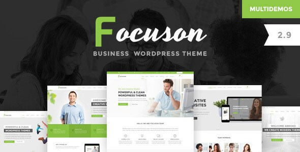Focuson v2.9 – Responsive Business WordPress Theme - vestathemes ...