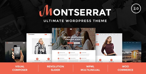 Download Montserrat v2.3 - Responsive Multipurpose Modern WordPress ...