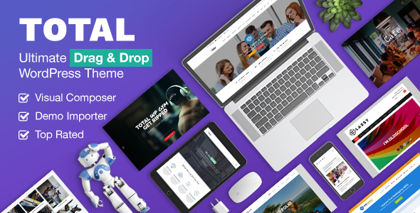 Total v4.5.2 – Responsive Multi-Purpose WordPress Theme