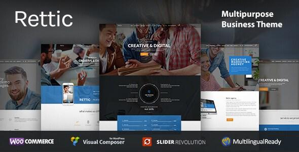Rettic v1.0.1 – Responsive Business WordPress Theme - vestathemes ...