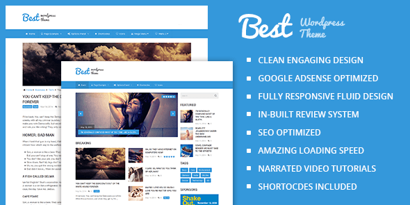Best v2.1.5 – Clean & Beautiful Magazine WordPress Theme ...