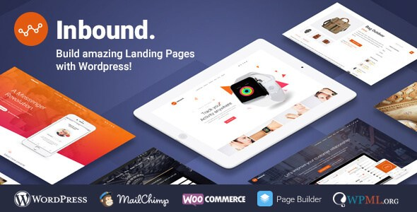 Inbound v1.2.16 – Responsive WordPress Landing Page Theme ...