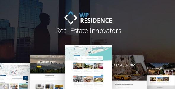 free wp real estate themes