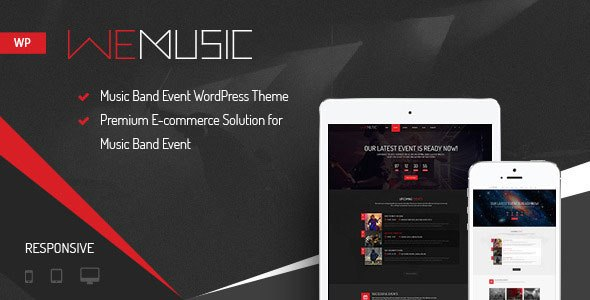 WeMusic v1.7.6 – Music & Band Event WordPress Theme - vestathemes ...