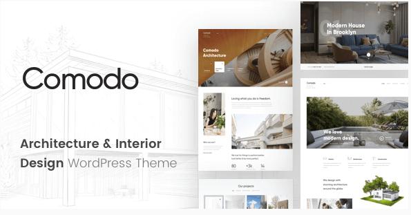 Comodo v1.0.1 – Architecture & Interior Design WordPress Theme ...