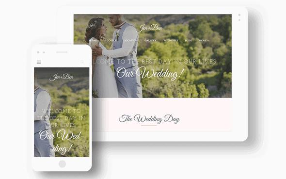 TemplateMonster - Jen + Ben v1.0.0 - Wedding Planner WordPress Theme ...