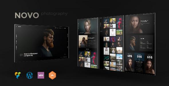 Novo Photography v2.1.1 - WordPress for Photography - vestathemes ...