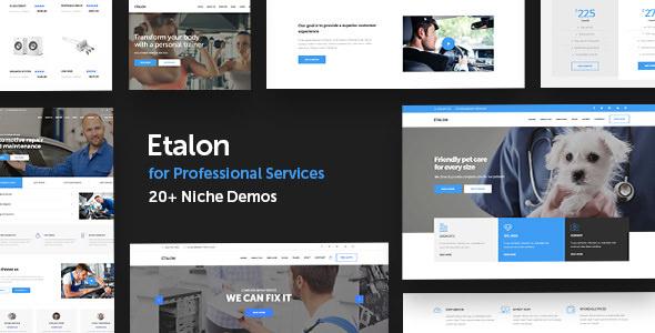 Etalon v1.2 - Multi-Concept Theme for Professional Services ...